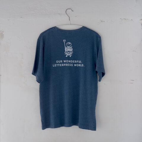 テキンTシャツ インディゴ
